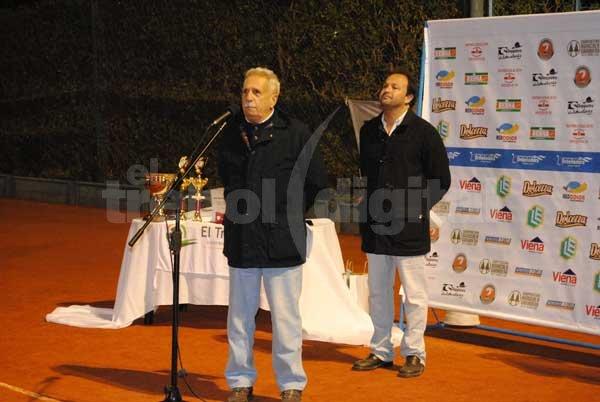 Quedó inaugurado el gran torneo Nacional de Tenis